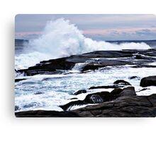Ferocious Ocean -- Peggy's Cove, Nova Scotia Canvas Print
