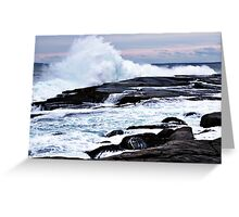 Ferocious Ocean -- Peggy's Cove, Nova Scotia Greeting Card