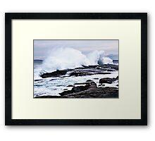 Ferocious Ocean -- Peggy's Cove, Nova Scotia Framed Print