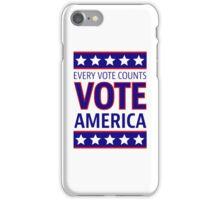 VOTE AMERICA iPhone Case/Skin