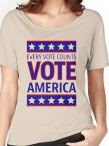 VOTE AMERICA Women's Relaxed Fit T-Shirt