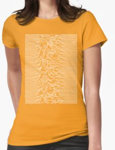 Division Waves Parody Womens Fitted T-Shirt