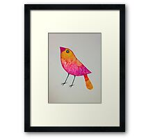 Summer bird Framed Print