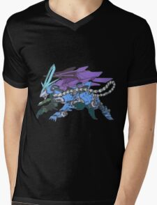Pokezoids Suicune Mens V-Neck T-Shirt