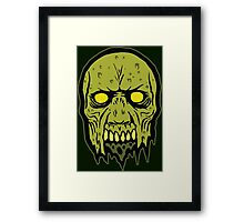 Zed Head Framed Print
