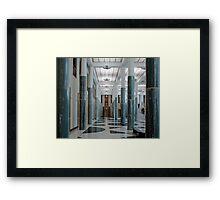 Internal Pillars No2 Framed Print