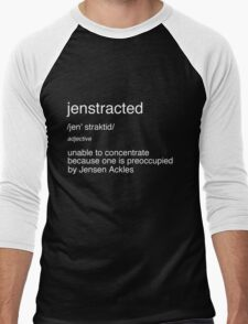 Jenstracted Men's Baseball ¾ T-Shirt