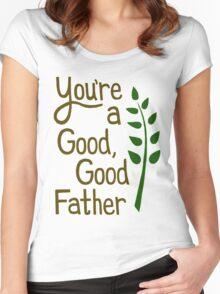 Good Good Father Women's Fitted Scoop T-Shirt