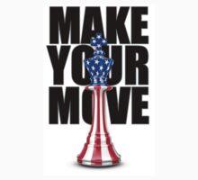 Make Your Move USA Kids Tee
