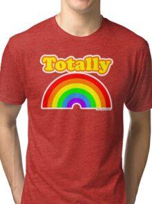 Totally Rainbow Logo Tri-blend T-Shirt