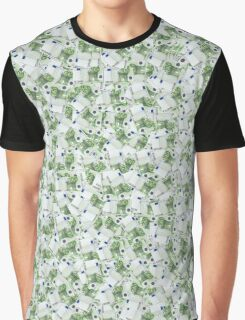 Giant money background 100 euro notes Graphic T-Shirt