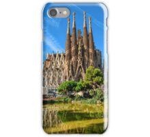 Sagrada Familia basilica in Barcelona iPhone Case/Skin