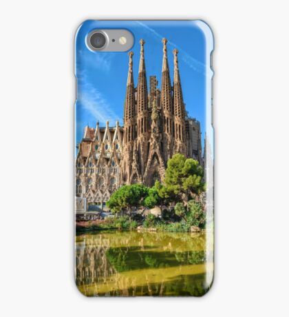 Sagrada Familia basilica in Barcelona iPhone Case/Skin