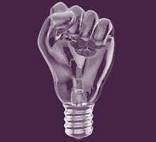 Protest fist light bulb Unisex T-Shirt