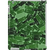 GANGSTA jungle camo iPad Case/Skin