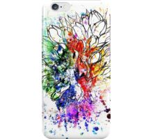 Tulips Grunge Sketch iPhone Case/Skin