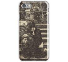 James Jacques Joseph Tissot - Reverie. iPhone Case/Skin