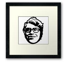 Bro Safari Framed Print