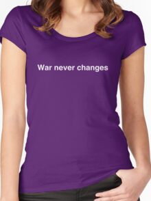 War never changes Women's Fitted Scoop T-Shirt
