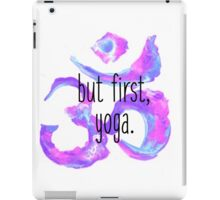 But first, yoga iPad Case/Skin