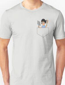 Dust & Brush (Pocket) Unisex T-Shirt
