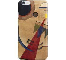 Kandinsky - Rot In Spitzform 1925  iPhone Case/Skin