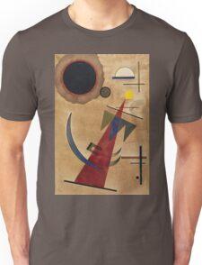 Kandinsky - Rot In Spitzform 1925  Unisex T-Shirt