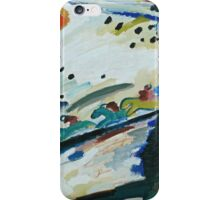 Kandinsky - Romantic Landscape   iPhone Case/Skin
