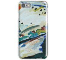 Kandinsky - Romantic Landscape   iPhone Case/Skin
