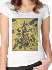 Kandinsky - Points  Women's Fitted Scoop T-Shirt