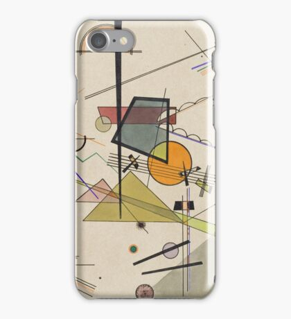 Kandinsky - Melodisch  iPhone Case/Skin