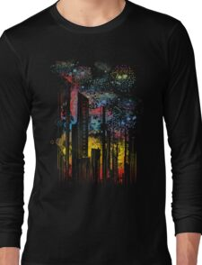 starry city lights T-Shirt