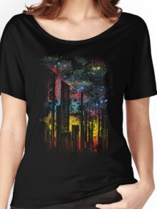 starry city lights Women's Relaxed Fit T-Shirt