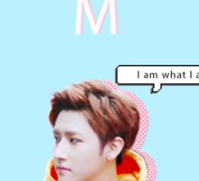 I.M phone case Sticker