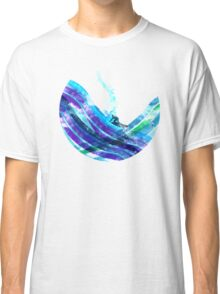 graphic wave Classic T-Shirt