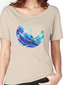 graphic wave Women's Relaxed Fit T-Shirt