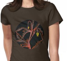 Wild Plant Womens Fitted T-Shirt
