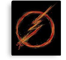 speed lightning Canvas Print