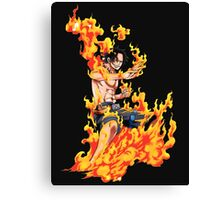 Ace One piece Canvas Print
