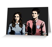 Fitzsimmons - Contrast Greeting Card
