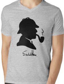 World's Greatest Detective Mens V-Neck T-Shirt
