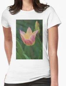 tulip in the garden Womens Fitted T-Shirt
