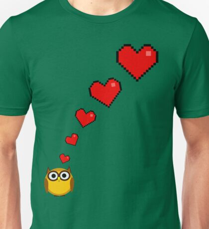 Owl's big fat fluffy thoughts Unisex T-Shirt