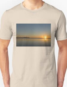 Bright and Early - Toronto Morning with a Terrific Sunrise Unisex T-Shirt