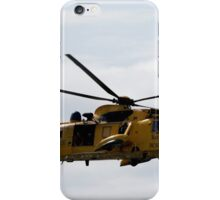 COMING TO THE RESCUE iPhone Case/Skin