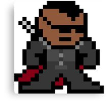 Blade Pixel Art Canvas Print