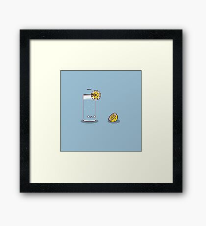 Lemonicide Framed Print
