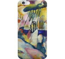 Kandinsky - Landscape With Rain iPhone Case/Skin