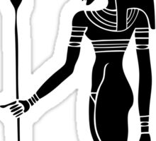 Egyptian Goddess Hathor Sticker