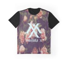 Monsta X: Floral  Graphic T-Shirt